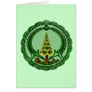 Christmas Claddagh Card