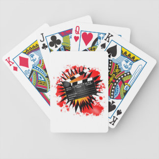 Christmas Clapperboard Bicycle Playing Cards