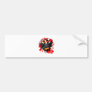 Christmas Clapperboard Bumper Sticker