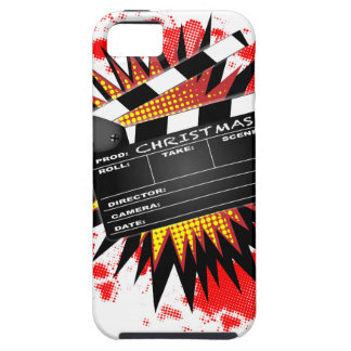 Christmas Clapperboard iPhone 5 Cases