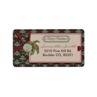 Christmas Classic Address Label