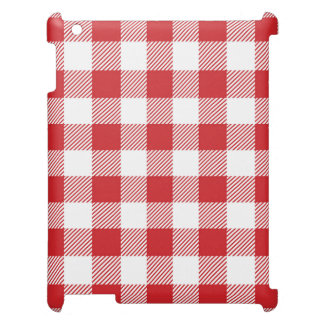 Christmas classic Buffalo check plaid pattern iPad Cover