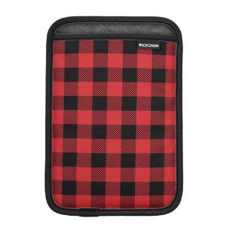 Christmas classic Buffalo check plaid pattern iPad Mini Sleeve