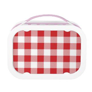 Christmas classic Buffalo check plaid pattern Lunch Box