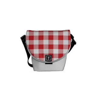 Christmas classic Buffalo check plaid pattern Messenger Bag