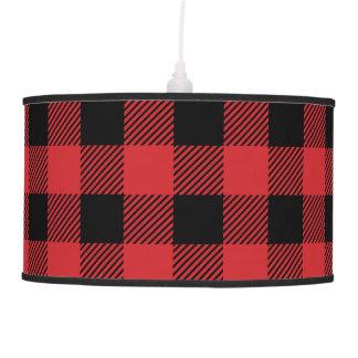 Christmas classic Buffalo check plaid pattern Pendant Lamp