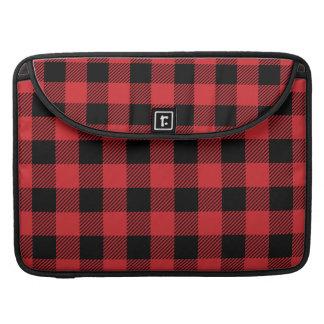 Christmas classic Buffalo check plaid pattern Sleeve For MacBooks