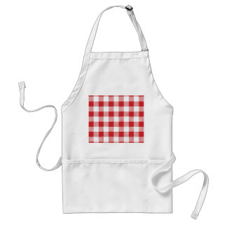 Christmas classic Buffalo check plaid pattern Standard Apron