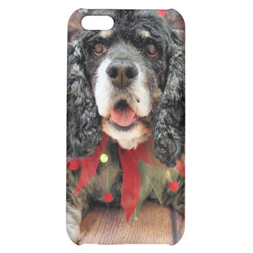 Christmas - Cocker Spaniel - Harley iPhone 5C Cover