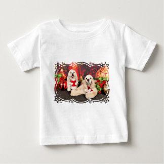 Christmas - Cocker - Toby, Havanese - Little T Baby T-Shirt