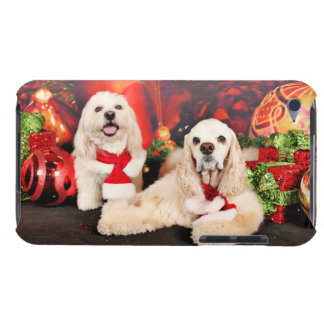 Christmas - Cocker - Toby, Havanese - Little T Barely There iPod Cover