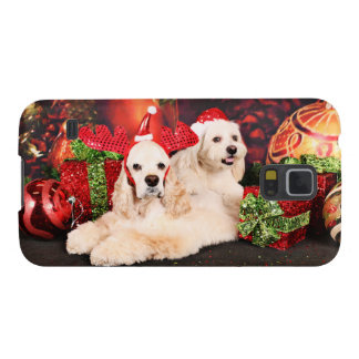 Christmas - Cocker - Toby, Havanese - Little T Case For Galaxy S5