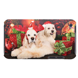 Christmas - Cocker - Toby, Havanese - Little T Case-Mate iPod Touch Case