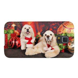 Christmas - Cocker - Toby, Havanese - Little T Galaxy S5 Covers