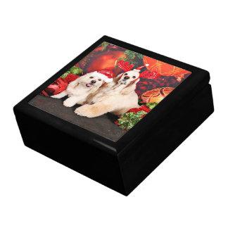 Christmas - Cocker - Toby, Havanese - Little T Gift Box