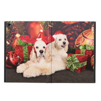 Christmas - Cocker - Toby, Havanese - Little T iPad Air Cover
