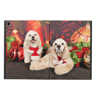 Christmas - Cocker - Toby, Havanese - Little T iPad Air Cover