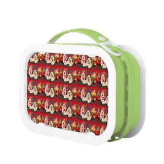 Christmas - Cocker - Toby, Havanese - Little T Lunch Box