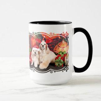 Christmas - Cocker - Toby, Havanese - Little T Mug