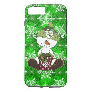 Christmas cocoa snowman iPhone 7 plus case tough