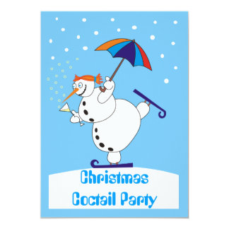 Christmas Coctail Party Invitation