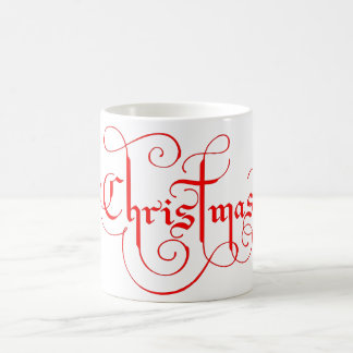 Christmas coffee mug