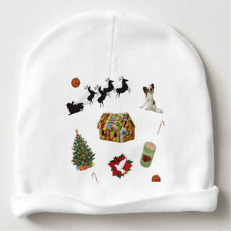 Christmas Collage Baby Beanie