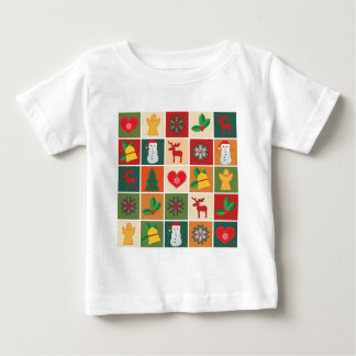 Christmas Collage Baby T-Shirt