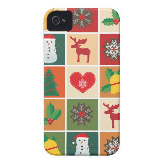 Christmas Collage Case-Mate iPhone 4 Cases