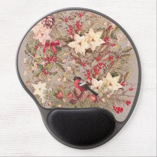 Christmas Collage Gel Mouse Pad