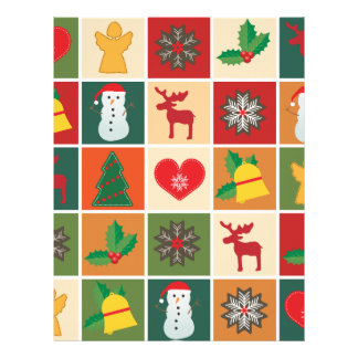 Christmas Collage Letterhead