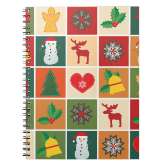 Christmas Collage Notebooks