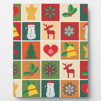Christmas Collage Plaque