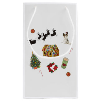 Christmas Collage Small Gift Bag