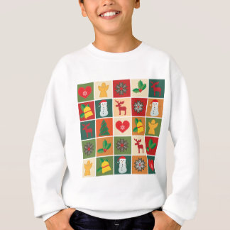 Christmas Collage Sweatshirt