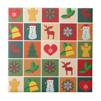 Christmas Collage Tile