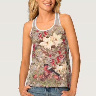 Christmas Collage Women's All-Over Print Tank Top