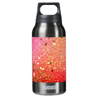 Christmas, colorful, rainbow colors, insulated water bottle