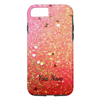Christmas, colorful, rainbow colors, iPhone 8/7 case