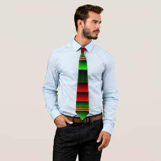 Christmas Colors Men's Necktie