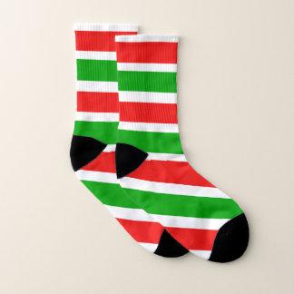 Christmas Colour Stripes 1