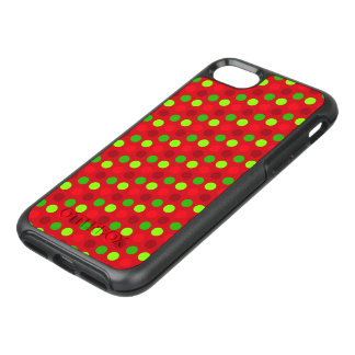 Christmas Colours Polka Dots OtterBox Symmetry iPhone 8/7 Case