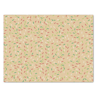 Christmas Cookie Background Tissue Paper