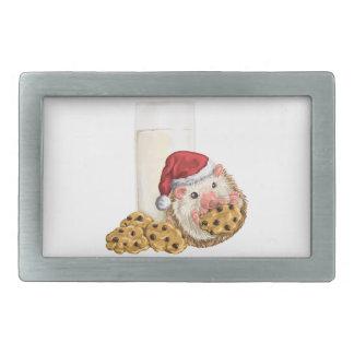 Christmas Cookie Hog Belt Buckle