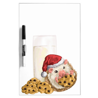 Christmas Cookie Hog Dry Erase Board