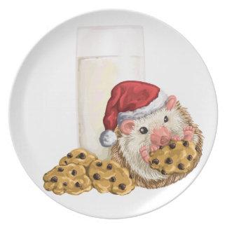 Christmas Cookie Hog Plate