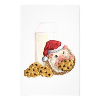 Christmas Cookie Hog Stationery