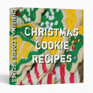 Christmas Cookie Recipes Cookies Photo Binder