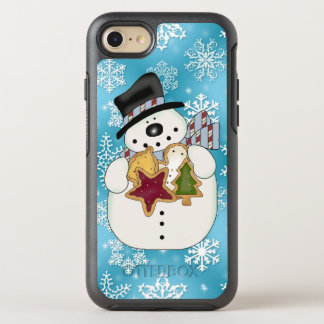 Christmas cookie snowman iPhone 7 OtterBox Symmetry iPhone 7 Case