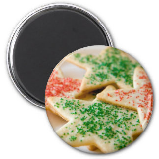 Christmas Cookies 2 Inch Round Magnet